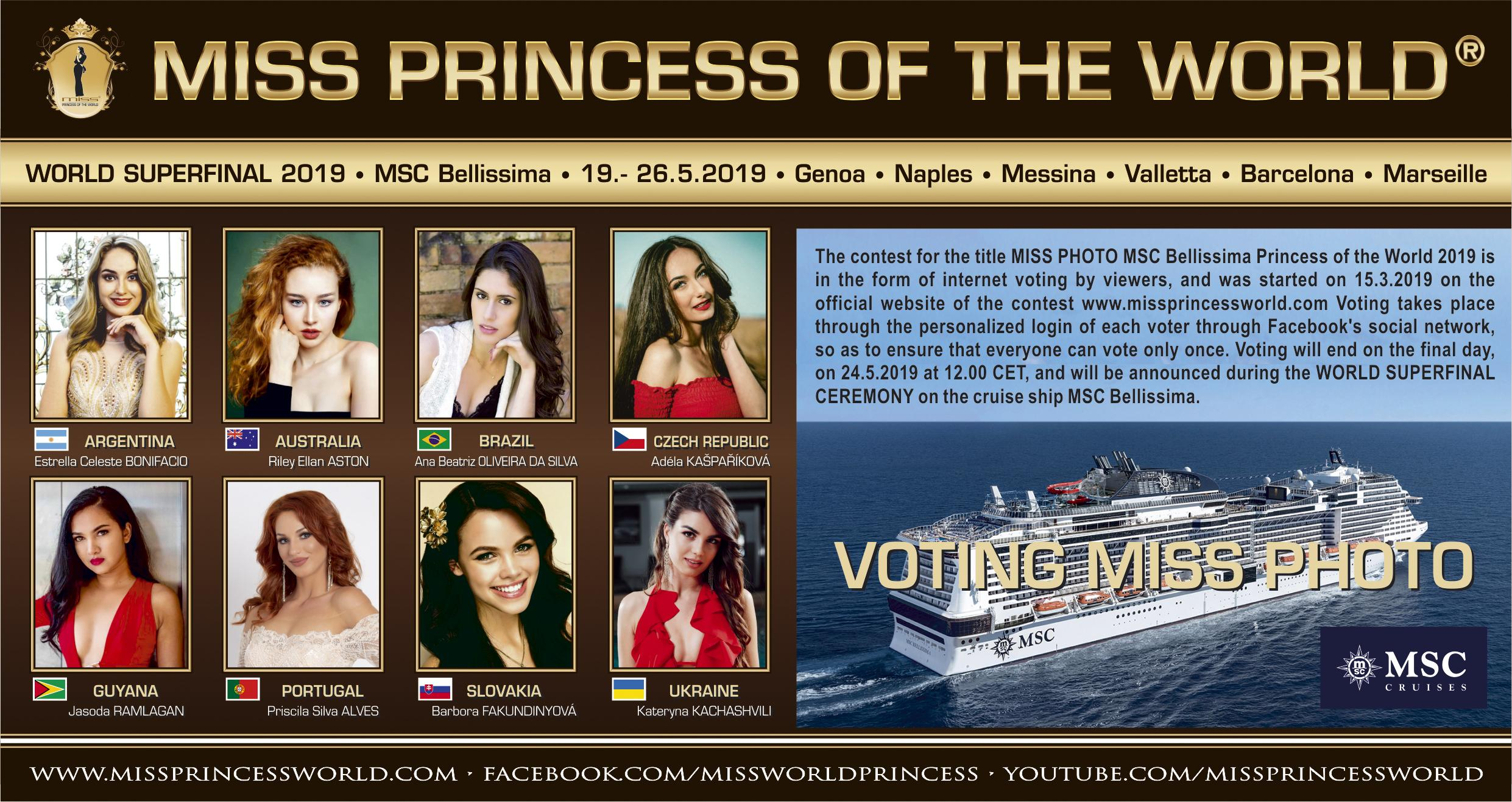 VOTING MISS PHOTO of Princess of the World 2019